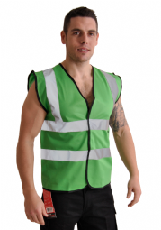 Corporate Wear Lime Green Vest